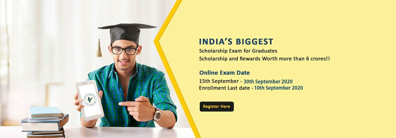 Online Scholarship Portal | Merit Based Scholarship test in India | online exam for scholarship